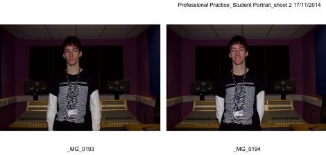 Professional Practice_Student Portrait_shoot 2-6