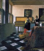 Johannes Vermeer The Music Lesson 1662 1665
