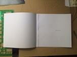 internal pages glued to back cover